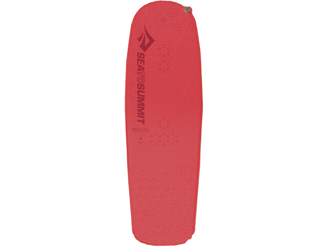 Sea to Summit UltraLight Colchoneta autoinflable Normal Mujer, coral